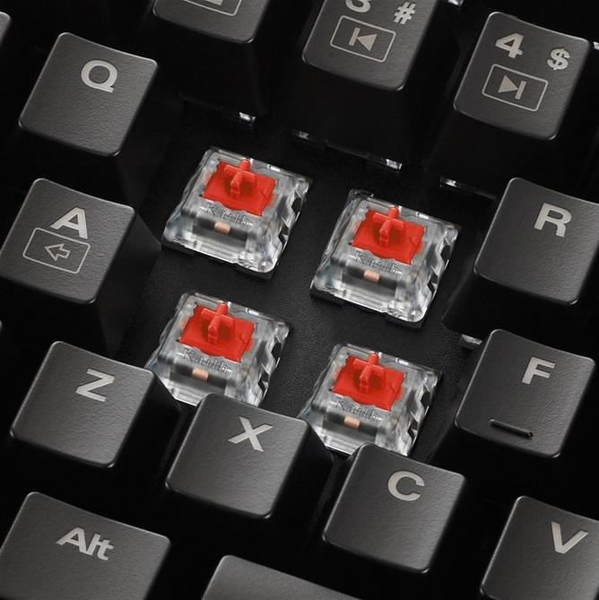 Клавиатура Sharkoon Skiller Mech SGK1 может менять поведение и звуковой почерк при нажатии