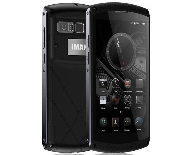 Смартфон iMan Victor получил корпус из «жидкого металла» из степень защиты IP67