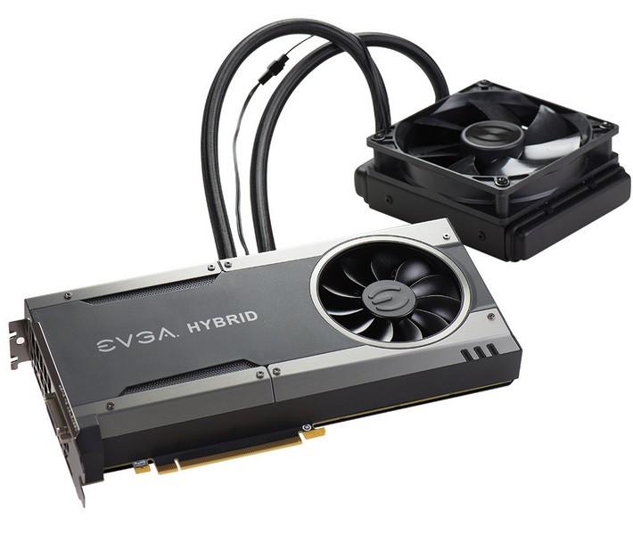 Карта EVGA GeForce GTX 1080 Hybrid  стоит $730