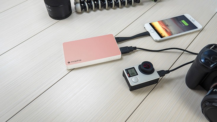 Mophie анонсировала внешний аккумулятор с портом USB-C