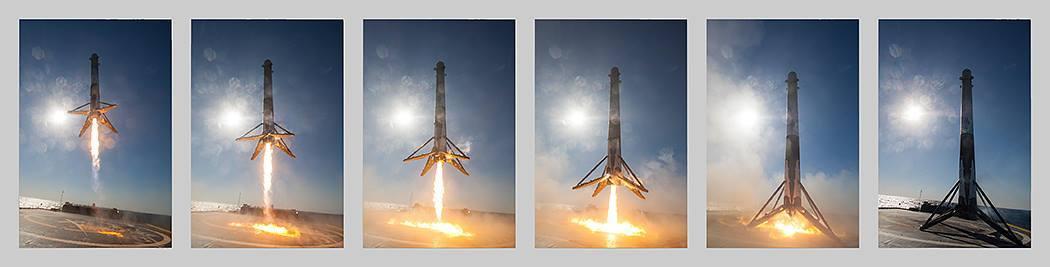 SpaсeX установила срок для вторичного запуска «проверенной в космосе» ступени Falcon 9 - 3
