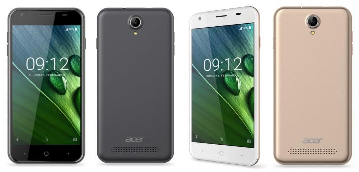Смартфоны Acer  Liquid Z6 и Liquid Z6 Plus очень сильно отличаются параметрами