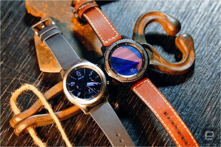 Часы Samsung Gear S3 доступны в двух версиях, но обе очень крупные