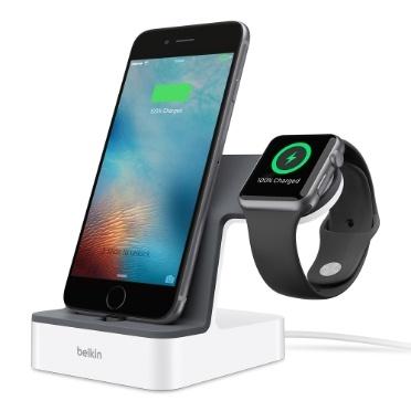 Зарядная станция Belkin PowerHouse стоимостью $99 позволяет одновременно заряжать iPhone и Apple Watch