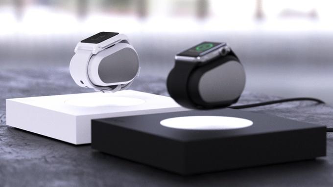 Зарядная станция Lift для умных часов, использующая принцип магнитной левитации, собрала уже более $250 тыс. на Kickstarter
