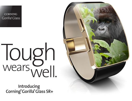 К достоинствам Gorilla Glass SR+ производитель относит высокую прочность