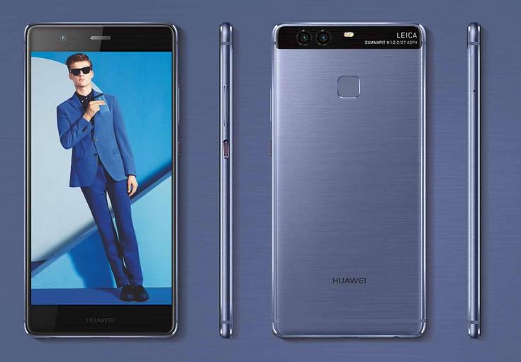 Смартфон Huawei P9 можно будет купить в красивых цветах