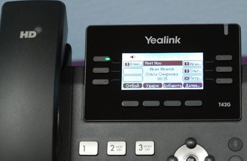IP телефоны Yealink для работы с Microsoft Skype for Business - 29