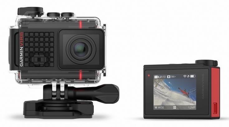 Экшн-камера Garmin Virb Ultra 30 понимает голосовые команды