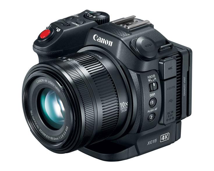 В камере Canon XC15 используется дюймовый датчик изображения типа CMOS