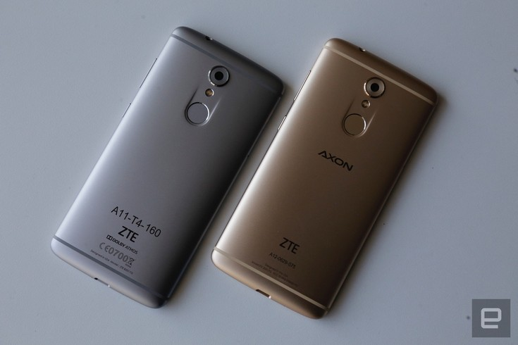 Смартфон ZTE Axon 7 mini оснастили SoC Snapdragon 617