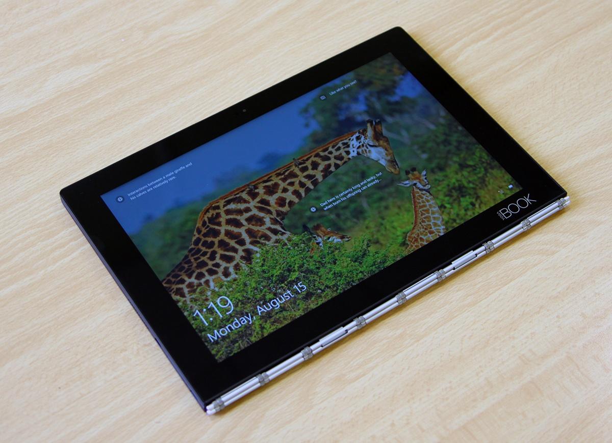 Обзор Lenovo YOGA BOOK — новый класс портативных устройств? - 23