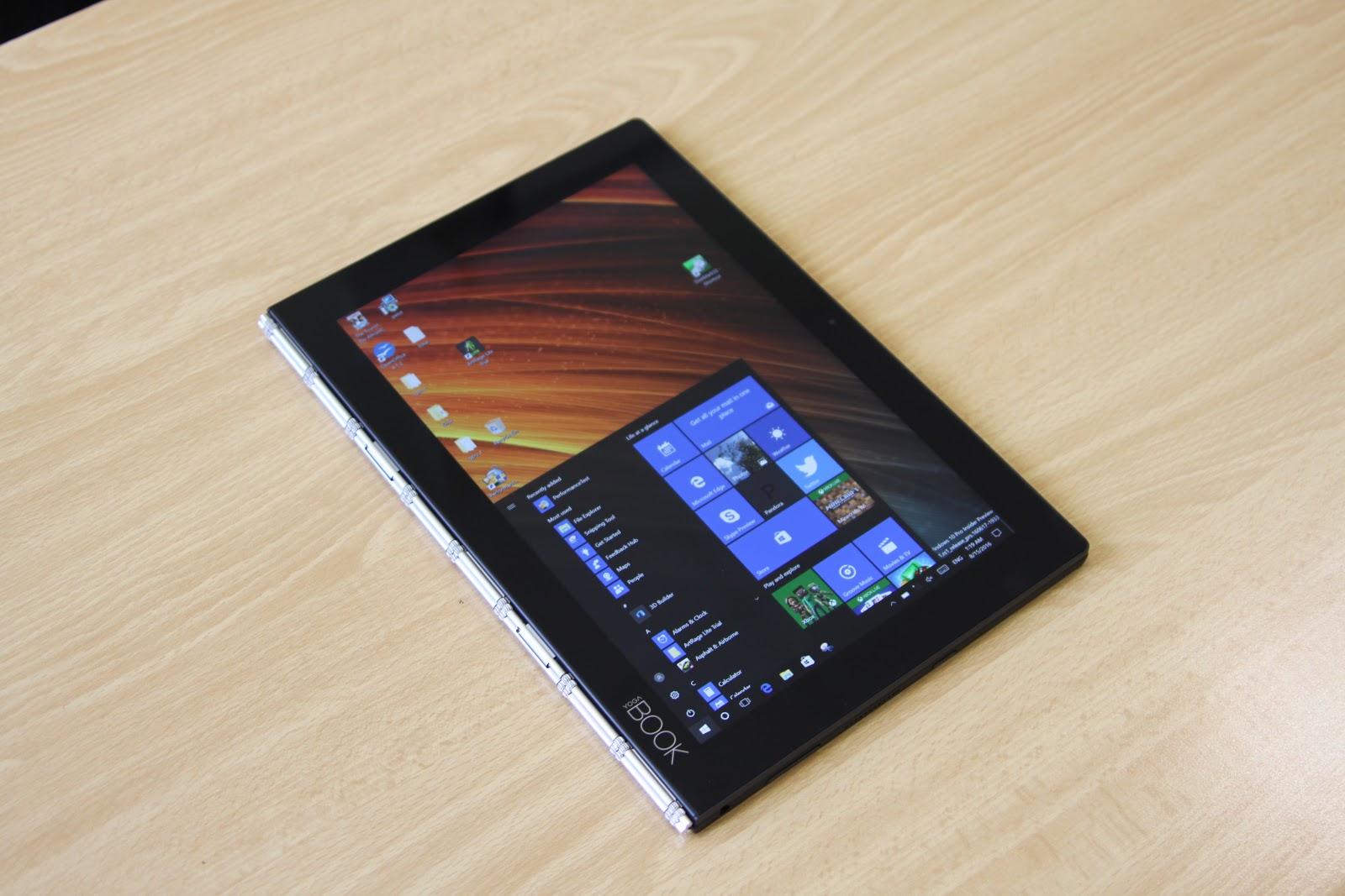 Обзор Lenovo YOGA BOOK — новый класс портативных устройств? - 7