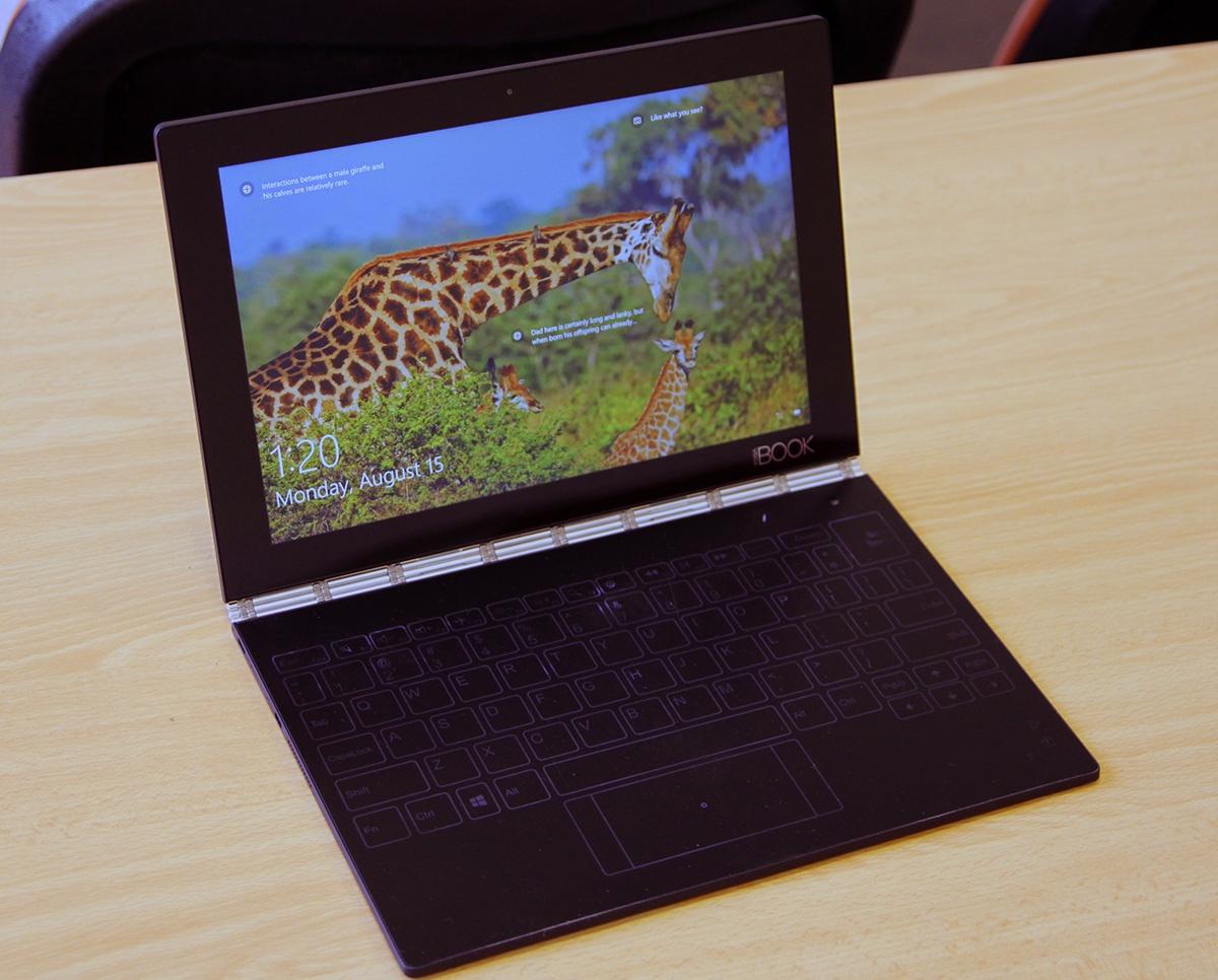 Обзор Lenovo YOGA BOOK — новый класс портативных устройств? - 8
