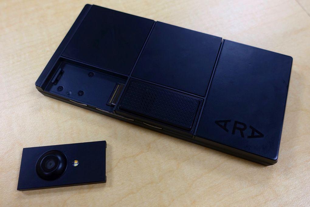 Google остановила разработку модульного смартфона Project Ara - 1