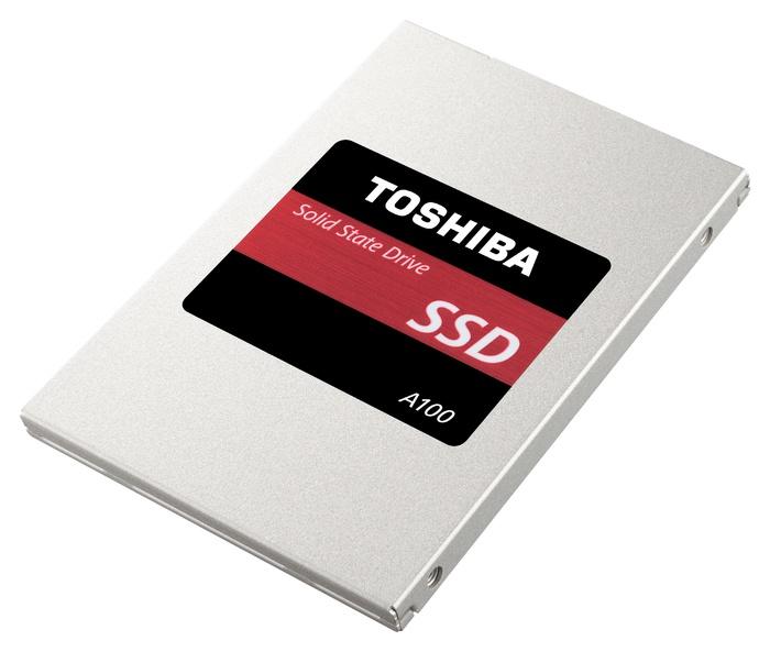 Накопители Toshiba A100 ограничиваются емкостью 240 ГБ