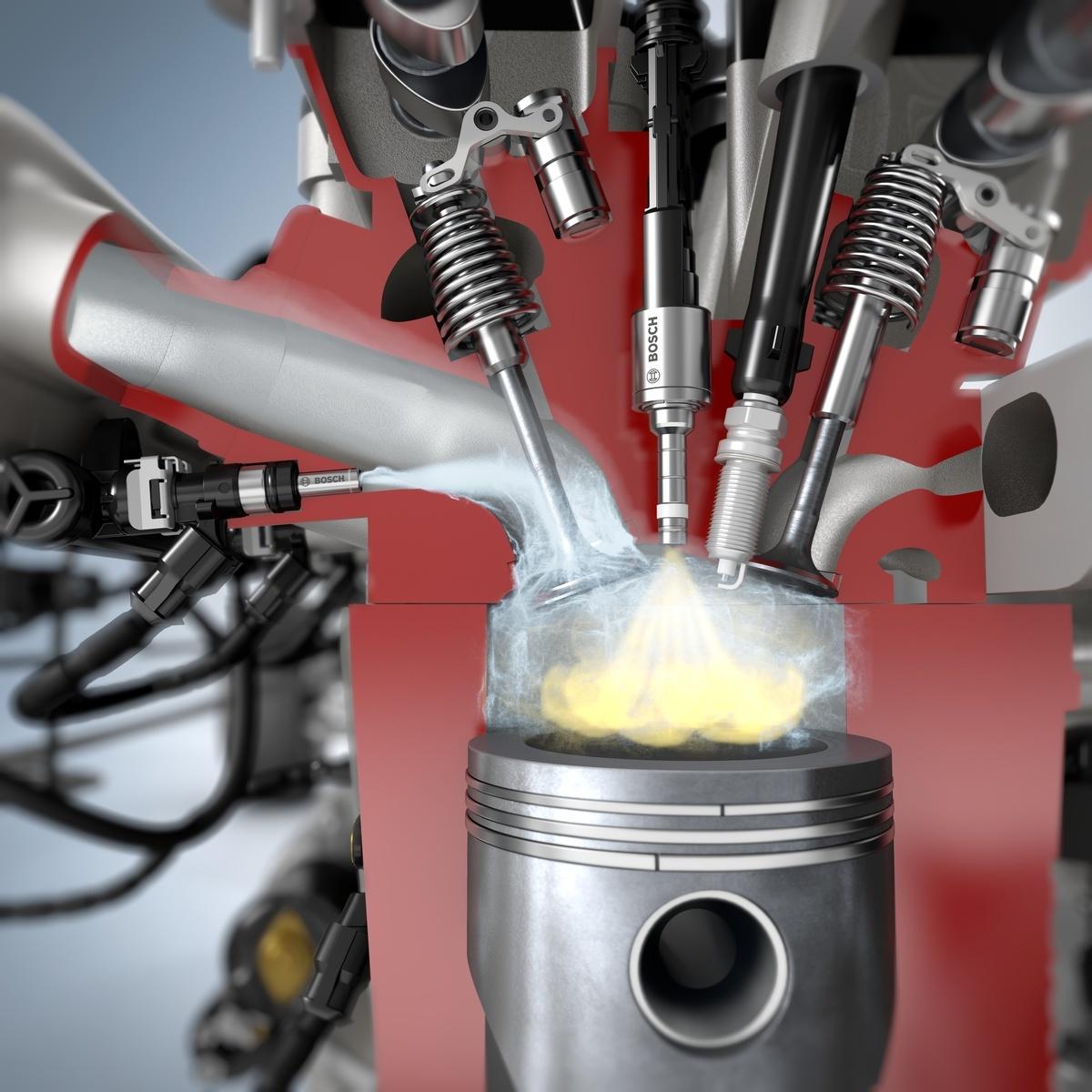 Просто добавь воды. Маленькая добавка H₂О повышает мощность ДВС и экономит топливо - 1