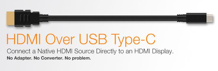 Мониторы и телевизоры с входами HDMI можно будет подключать к портам USB-C без переходников