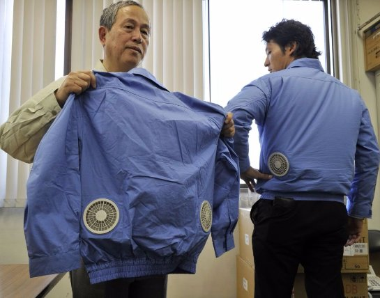 Ученые встроили в одежду кондиционер
