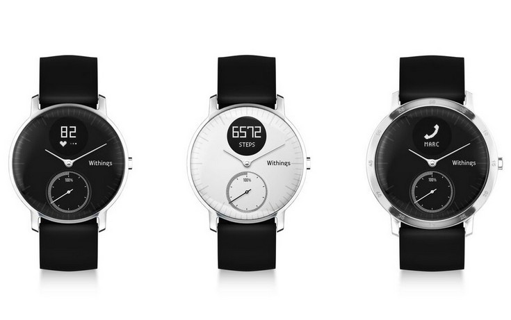 Умные часы Withings Steel HR оцениваются в $180