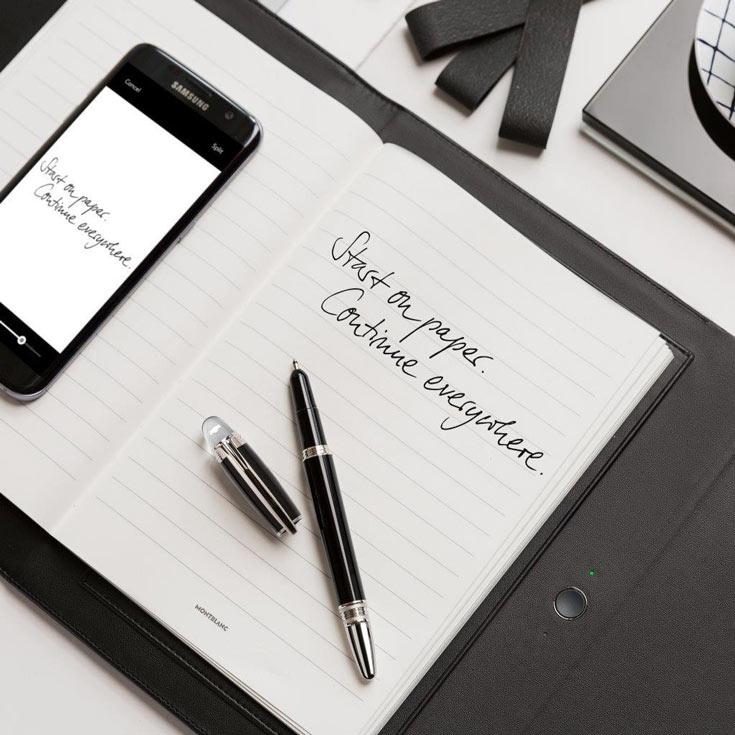 Ручка Montblanc StarWalker работает без подзарядки до восьми часов