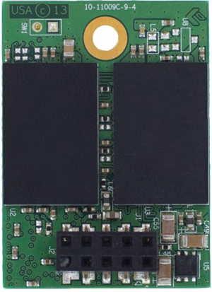 Накопители в виде 10-контактных модулей eUSB предложены объемом от 2 до 256 ГБ