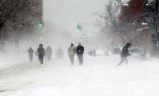 Америка готовится к лютым холодам