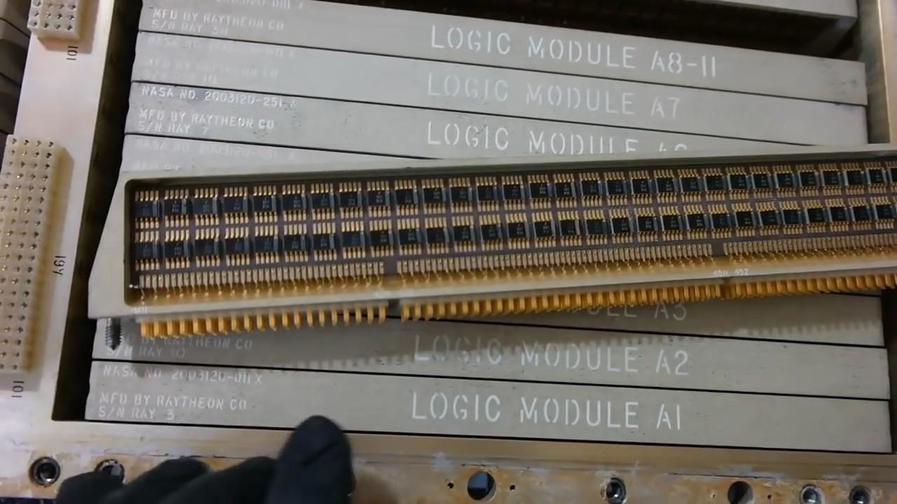 ПЗУ компьютера «Аполлон-3» нашли в мусоре - 1