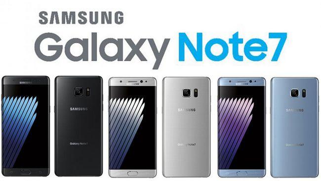 Смартфоны Samsung Galaxy Note7 не отзывают только в Китае