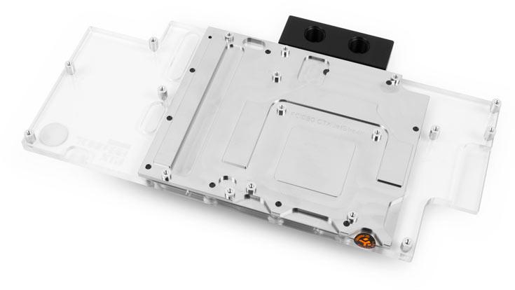 EK-FC1080 GTX JetStream относится к водоблокам с полным покрытием