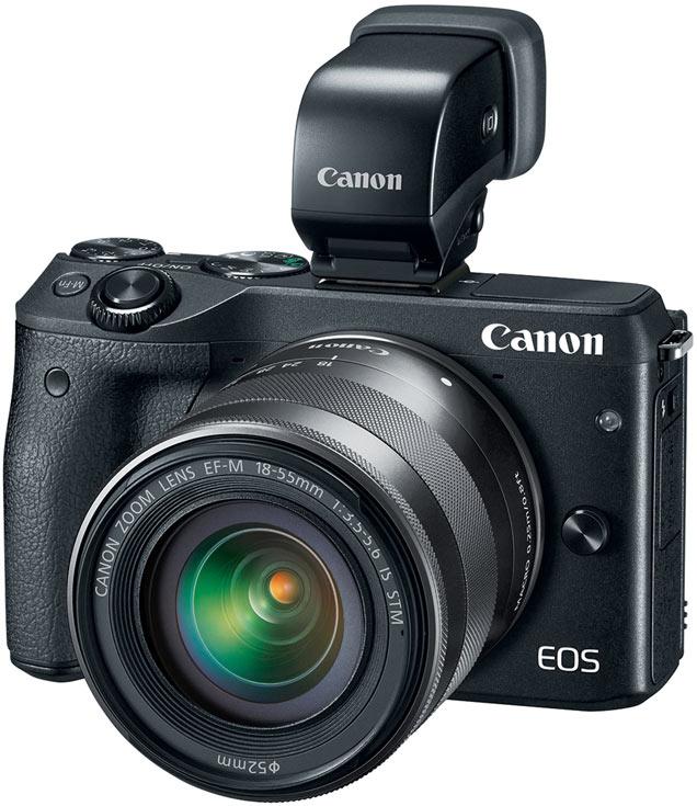 Беззеркальная камера Canon EOS M3