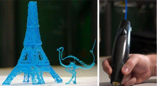 В Великобритании появился 3D-маркер, которым можно рисовать картины