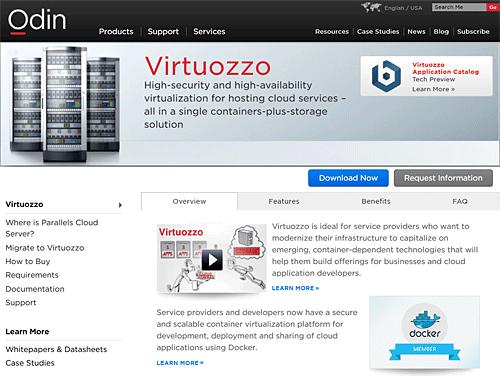 Top10 компаний – разработчиков программных средств виртуализации - 9