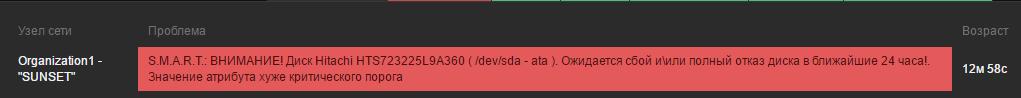 Zabbix 3.0.4: Агент Windows с TLS, LLD дисков, простой пример S.M.A.R.T. и только командная строка - 27