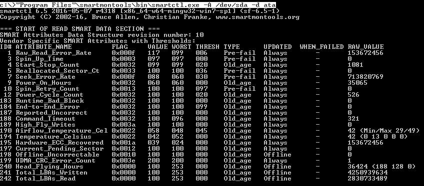 Zabbix 3.0.4: Агент Windows с TLS, LLD дисков, простой пример S.M.A.R.T. и только командная строка - 5