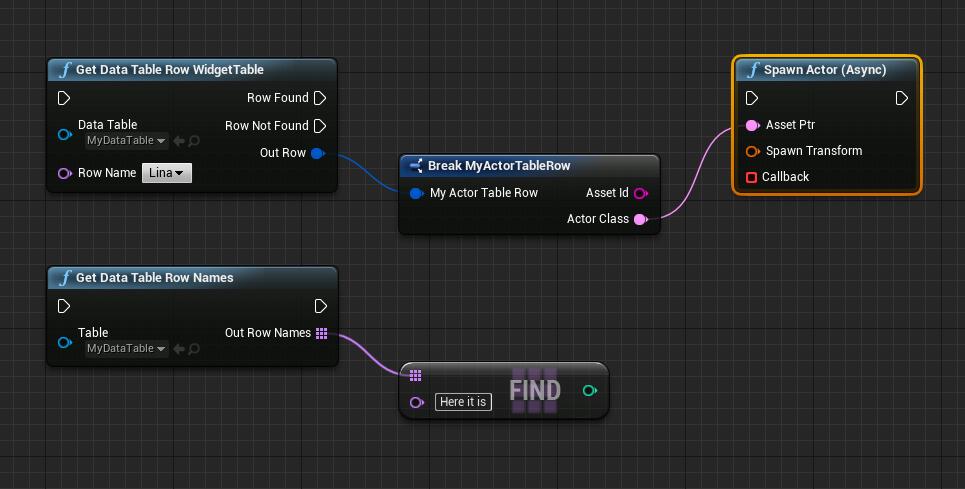 Асинхронная (и не очень) загрузка данных в Unreal Engine 4 - 5
