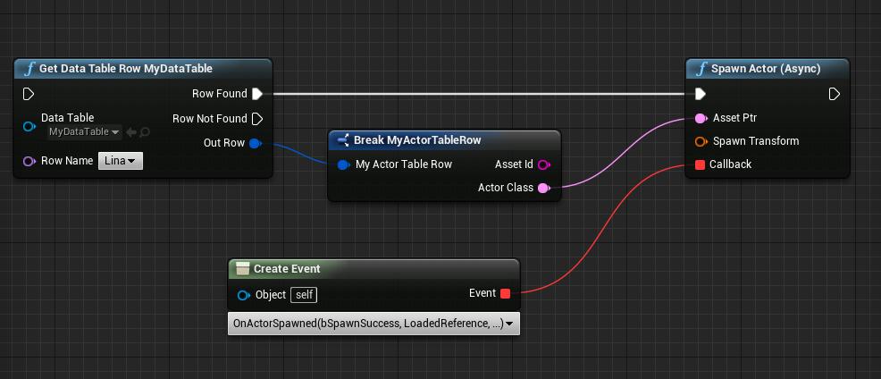 Асинхронная (и не очень) загрузка данных в Unreal Engine 4 - 6