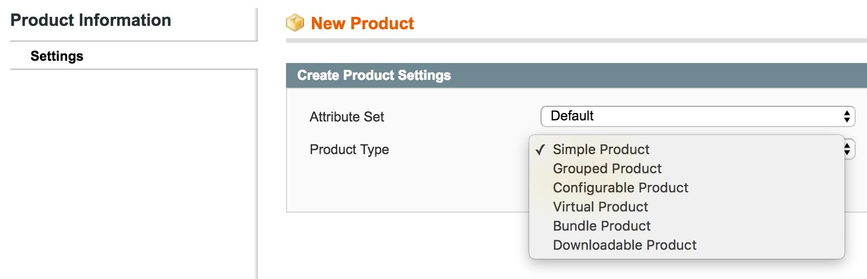 Автоматическое изменение типов продуктов в Magento 2 - 1