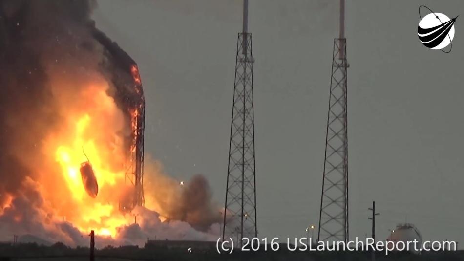 Гадаем о причинах и последствиях аварии Falcon 9 первого сентября - 10