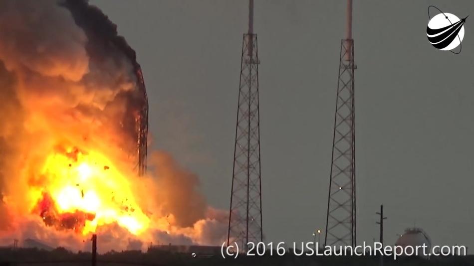 Гадаем о причинах и последствиях аварии Falcon 9 первого сентября - 12