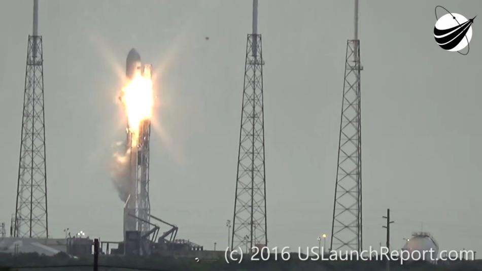 Гадаем о причинах и последствиях аварии Falcon 9 первого сентября - 4