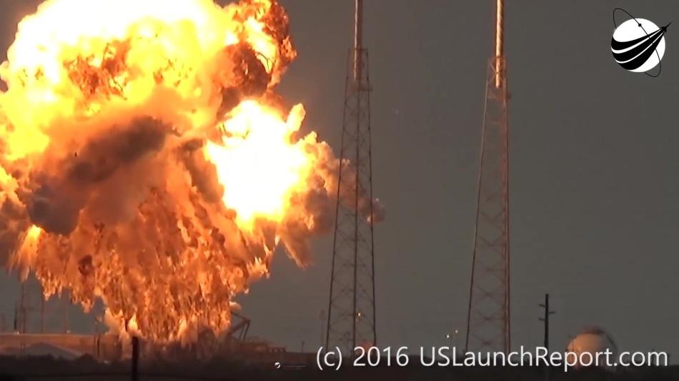 Гадаем о причинах и последствиях аварии Falcon 9 первого сентября - 7