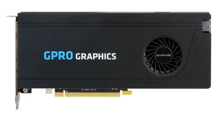 Графический адаптер Sapphire GPro 8200 получил четыре порта DisplayPort 1.4