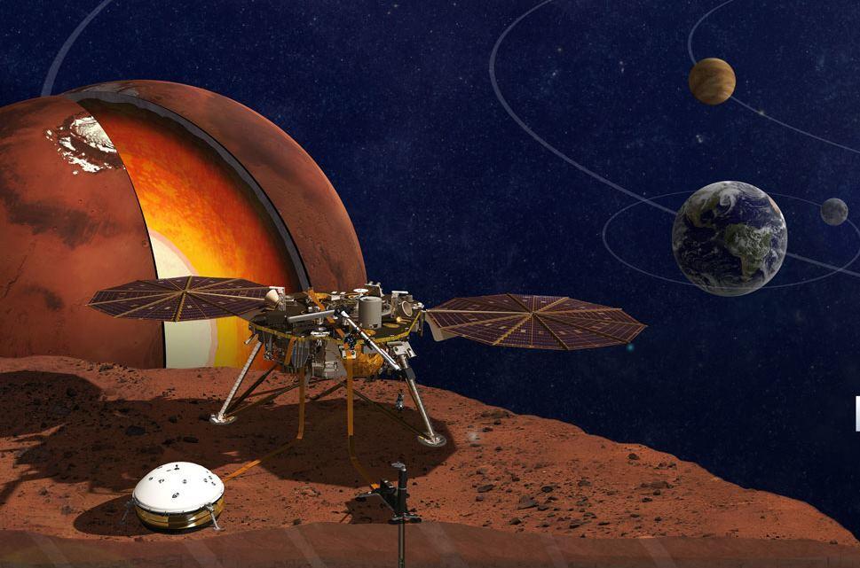 НАСА утвердило новую дату запуска аппарата Mars InSight - 1