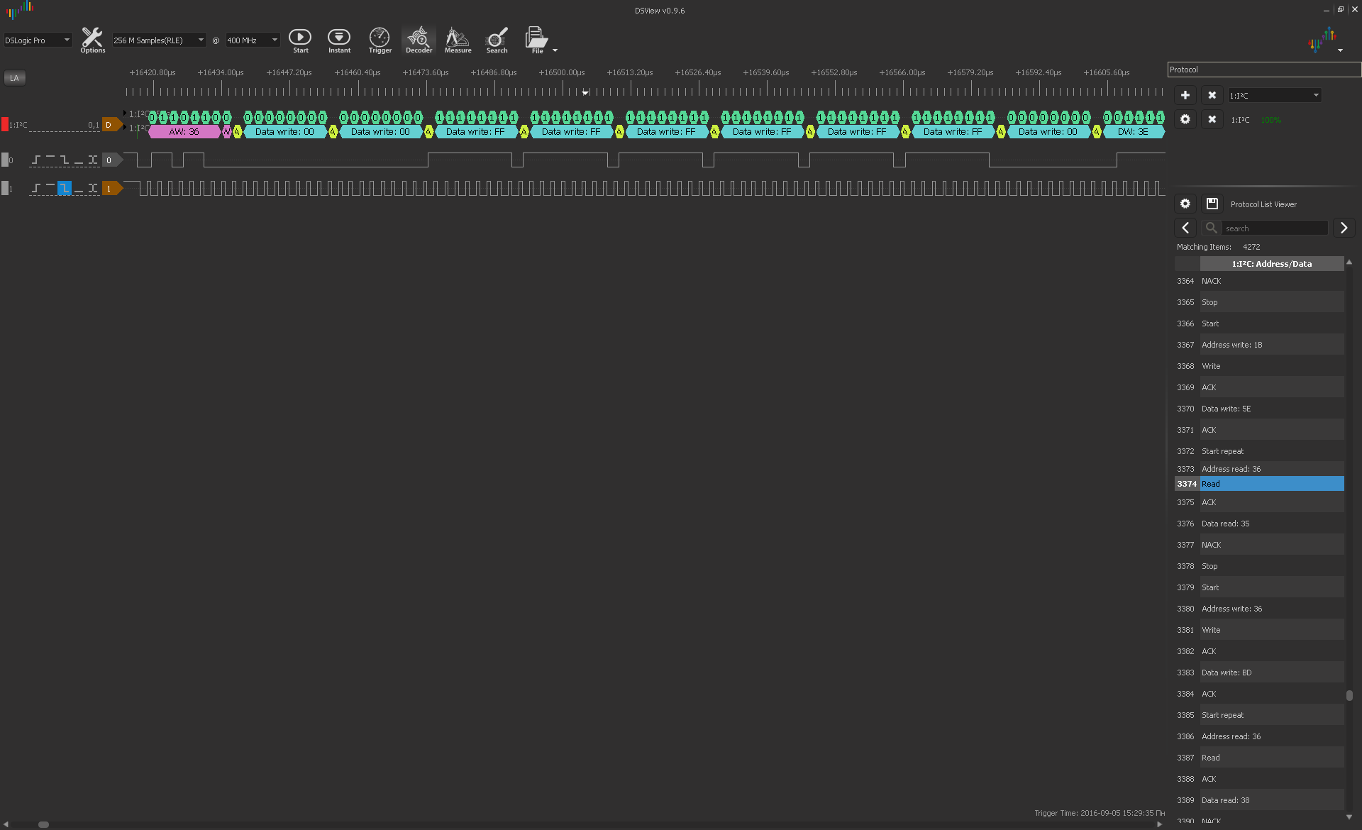 Небольшой обзор логических анализаторов Saleae Logic Pro 8 и DreamSourceLab DSLogic Pro - 15