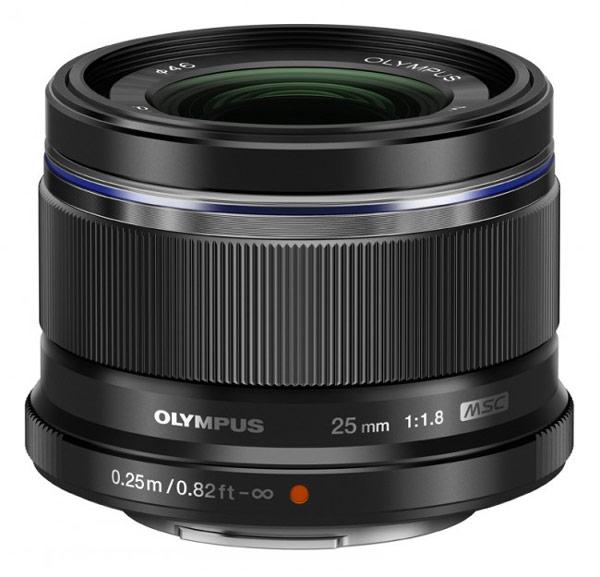 Компания Olympus анонсировала продажи объектива M.Zuiko Digital 25mm F1.8 системы Micro Four Thirds