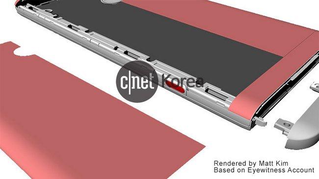 Изображения смартфона LG V20 указывают на неожиданный способ замены аккумулятора