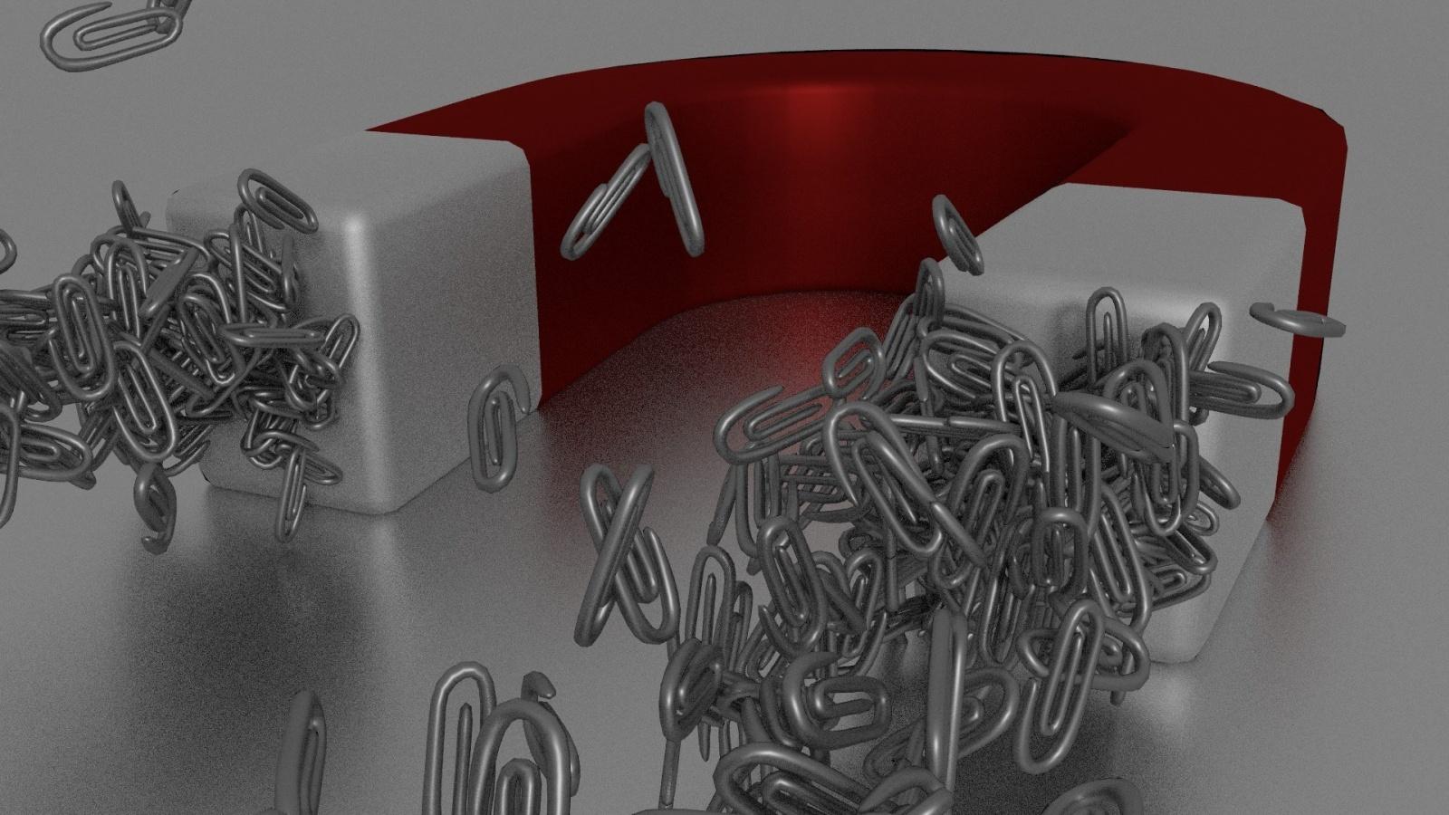 Интернет на магнитах 4 — Делим магнит на части - 1