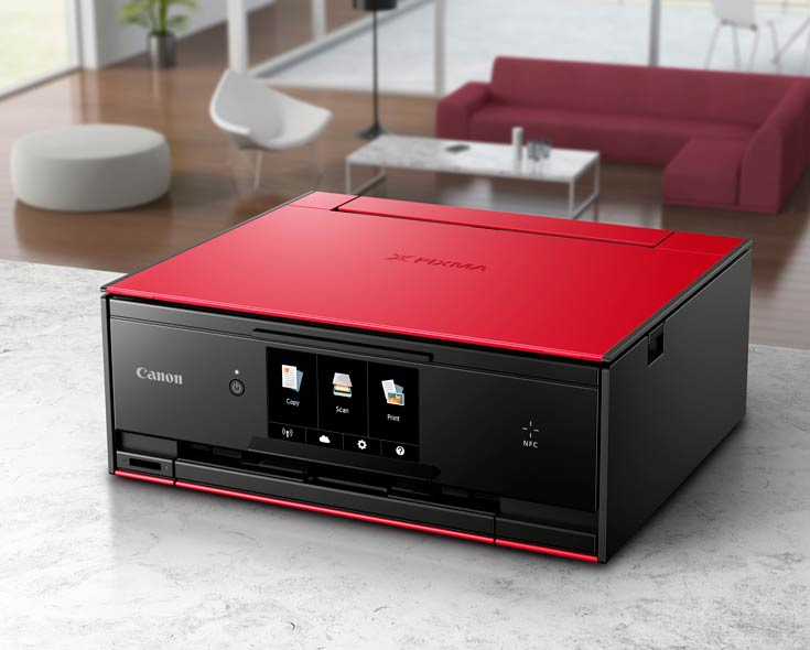 Принтеры Canon Pixma TS5050, TS6050, TS8050 и TS9050 компактнее своих предшественников