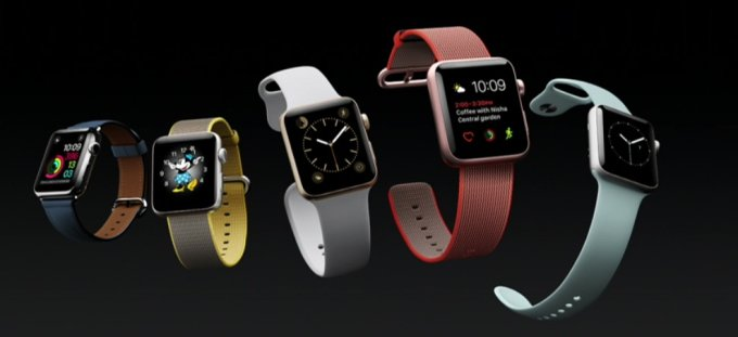 Apple показала Watch Series 2